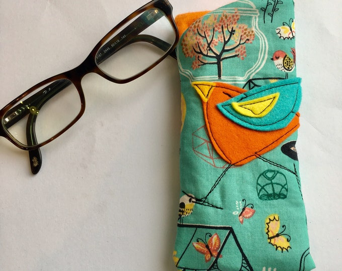 Featured listing image: Padded Fabric Eyeglass Case