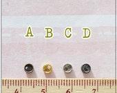 Tiny Mini Metal Button Round Shape - 20 pcs -  4 mm For Doll Dress Supplies