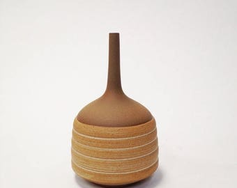 ON SALE Ships Now-  1 stoneware Hive vase by Sara paloma