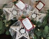 Woodland Star Votive Holder Wrapped Gift
