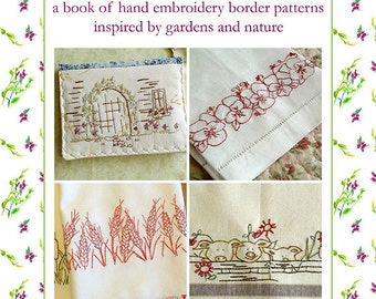 Kitchen Towels Hand Embroidery Pattern Book