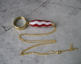 Necklace Magnifying Glass