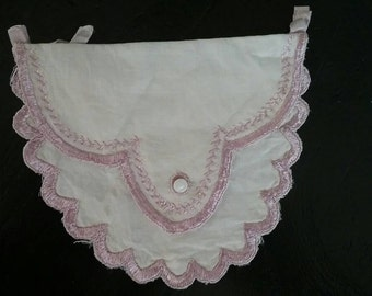 Dainty Antique Hankie or Stocking Bag FREE SHIPPING