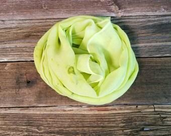Silk Scarf, Hand Dyed, Silk Chiffon