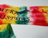 Single Knit Sock Blank -Santa's Big Night- Limited Edition of 4