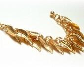 Golden Leaves Cartilage Chain