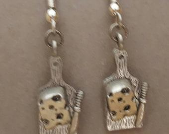 Cheese Board Earrings