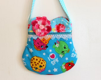 Shopkins Purse, Strawberry purse, toddler purse, girls purse