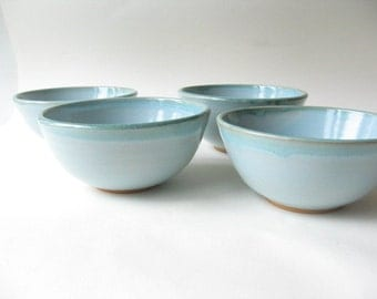 Reserved for Alex Pottery Set of 4 Soup Bowls
