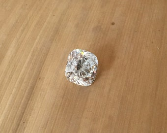 Natural Diamond - 6.65 x 6.61mm, 4.68mm deep Square Cushion cut Loose Diamond weighing 1.52 carats with EGL Certification (G, SI2) - LSG980