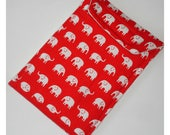 For Susie - Two Velcro Cases Elephants And Stripes