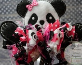 Panda Loopy Bow