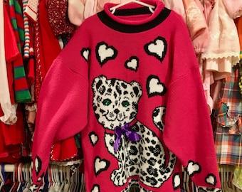 1990s Novelty Sweater Girls 10/12