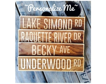Street Sign, Family Home, Personalized Street Sign
