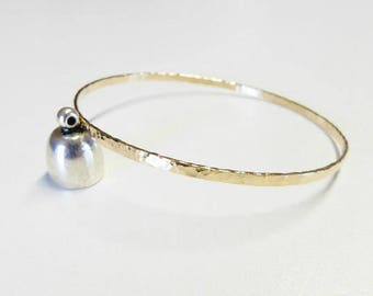 gold 3mm bangle bracelet, hammered gold bangle,rose gold bangle,3mm gold hammered bangle bracelet,bangle bracelets,gold filled bangle