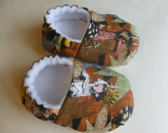 Where the Wild Things Are Soft Shoes - MADE TO ORDER