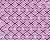 HALF YARD - Joel Dewberry Fabric, Lodge Lattice in Lilac, Aviary 2 Collection, Designer Quilting Cotton