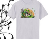 Pixie's Dragon Tangle Art T-Shirt Youth and Adult Sizes