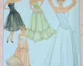 Simplicity 5006 UNCUT Sewing Pattern Misses Lingerie Corset Top Petticoat Slip Sz 6-12 HH Andrea Schewe Bridal Costume Formal