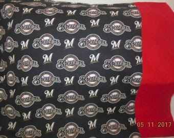Milwaukee Brewers Baseball Pillowcase
