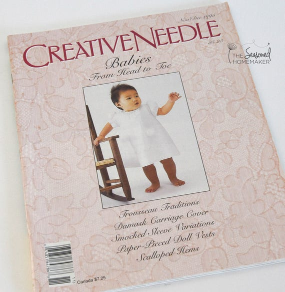 Nov/Dec 1995 Creative Needle Magazine - Volume 11, Number 6 - Babies From Head to Toe Issue