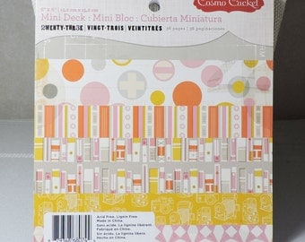 Scrapbook Paper 6x6 Paper pad by Cosmo Cricket