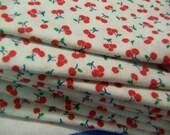 itty bitty cherries cotton napkins
