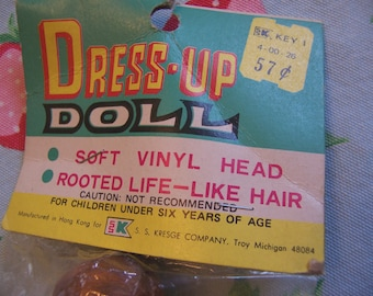 vintage dress up doll