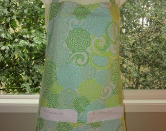 aprons for women - womens aprons - lotus flowers