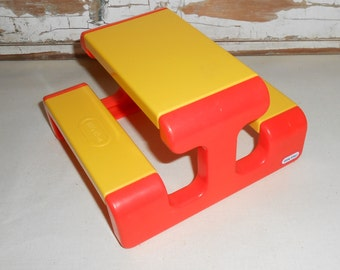 Vintage Little Tikes Doll House Furniture Picnic Table