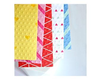 Bright Envelopes {5 w. cards/ seals} | Money Voucher Coin Envelopes | Pattern Envelopes | Thank You Cards | Mothers Day | Gift under 5 SALE