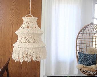 Amazing Hanging Macrame Weaving