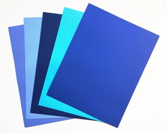 Cardstock Paper 10 Sheets Pack : Recollections- Cape Cod Blue  | Scrapbooking | Free shipping