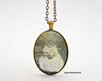 Cat Necklace - Cat Jewelry - Cat Lover Gift - Cat Pendant - Cat Jewellry - Funny Cat - Gift for Her - Mothers Day Gift - Kitty Necklace