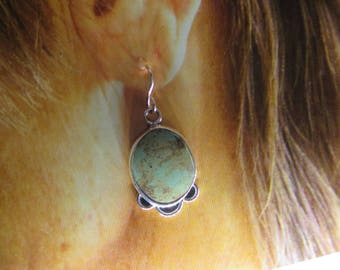 Old Style Turquoise Earrings