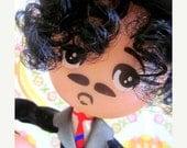 ON SALE Charlie Chaplin Pose Doll