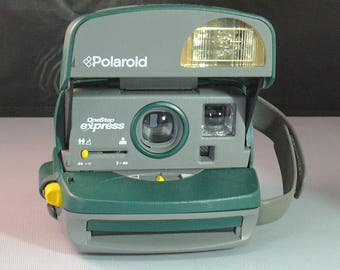 """Vintage Polaroid """"the Frog"""" One Step Express Instant Film Camera for Impossible Project 600 Film"""