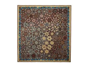 Quilt Modern Patchwork Summer Kaleidoscope Motifs Free USA Shipping