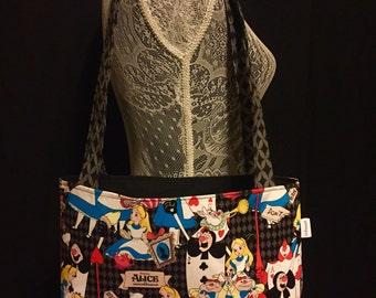 Alice in Wonderland Lightweight Bag