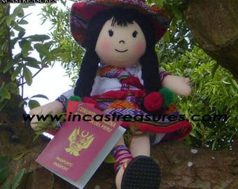 Andean Doll Chaska FREE SHIPPING Worldwide