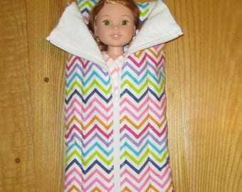American Girl Sleeping Bag Wellie Wishers 14 inch Doll