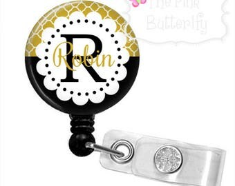 Black & Gold UCF Knights Badge Reel
