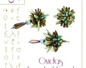 Beading tutorial / pattern Gvidas beaded bead Beading instruction in PDF – for personal use only