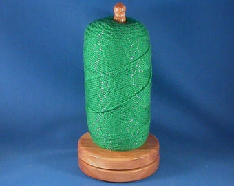 Big Leaf Maple  Wood Yarn/Thread Holder - Satin Finish