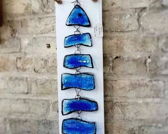 Fused Glass Fish Wall Hanging