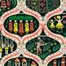 Nutcracker Fabric - Nutcracker By Susan Polston - Christmas Holiday Folk Dutch Nutcracker Cotton Fabric By The Yard With Spoonflower