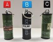 120 Film Roll Keychain