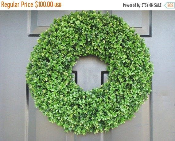 Christmas wreath sale boxwood wreath summer wreaths outdoor decor