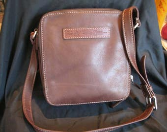 Vintage Leather Crossbody Fossil Handbag