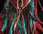 Reserved for Sherri Hanson, Prairie Warrior Fringe Bag